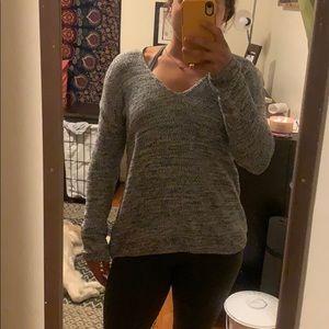 Grey/White/Black oversized sweater